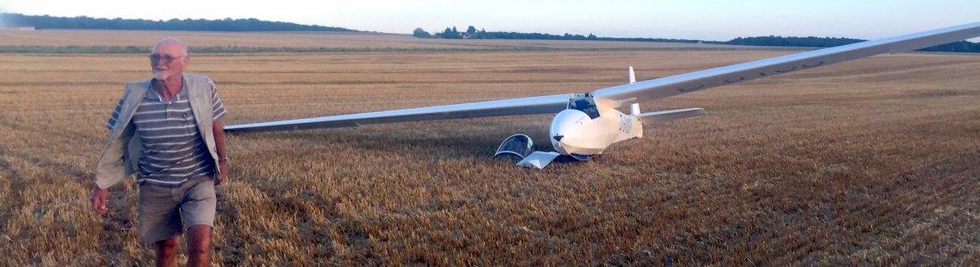 Zweefvliegen Gliding Adventures Europe Proefvlucht